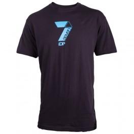 T-Shirt 7iDP NAVY GRANATOWY L