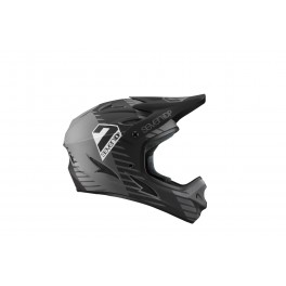KASK ROWEROWY DH ENDURO 7iDP M1 BLACK GRAPHITE YOUTH YM