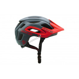 KASK ROWEROWY ENDURO AM 7iDP M2 GRAPHITE/RED M/L