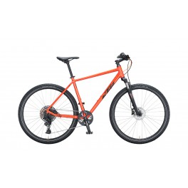 ROWER KTM LIFE CROSS 56CM FIRE ORANGE BLACK 2021