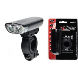 LAMPKA PRZEDNIA PRZÓD X-LIGHT JY-7021 2 LED