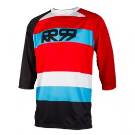 KOSZULKA ENDURO DH FR ROYAL RR99 DRIFT 3/4 RED/BLUE M